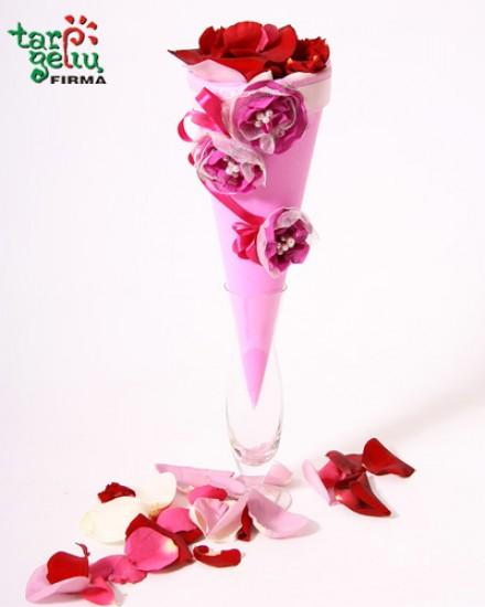 Petals of mix roses