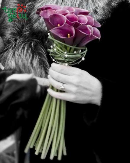 Wedding bouquet CALLA
