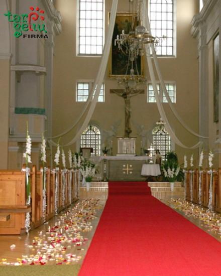 Bažnyčios papuošimas SUBTILUMAS