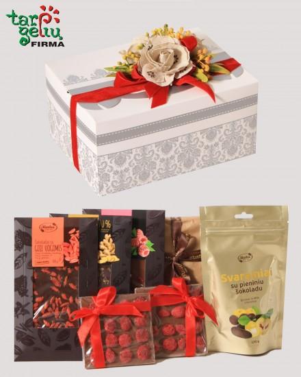 Assorted chocolates + Congratulation