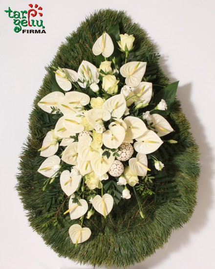 Funeral wreath UNFORGETTABLE