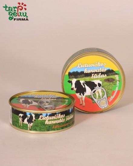Lithuania cow shit