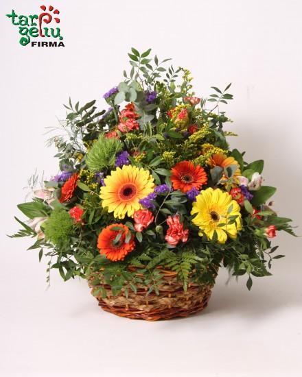 Gėlių krepšelis