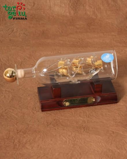 Ship in the bottle - SANTA MARIA