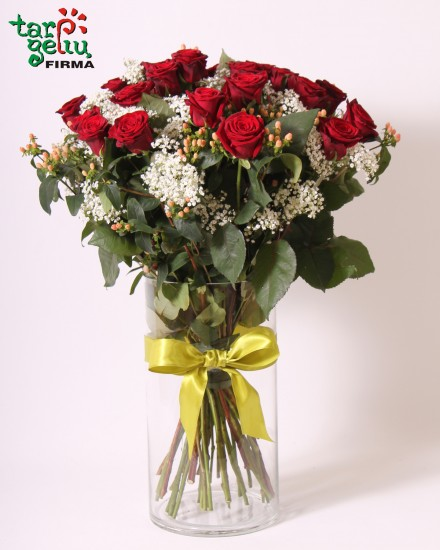 Bouquet of roses LOVE YOU