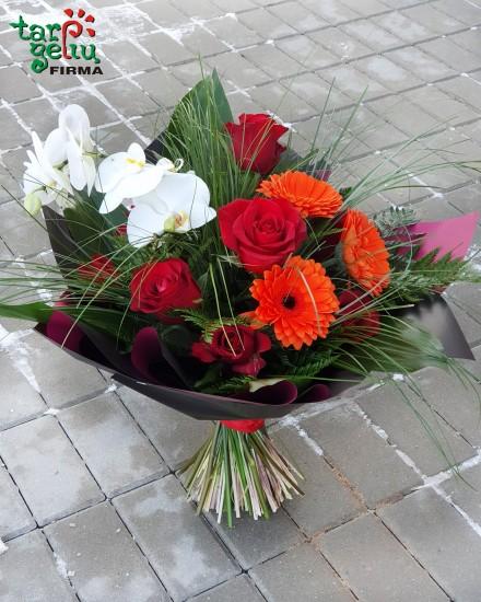 Roses bouquet TRIO