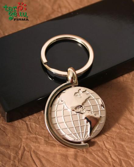 Key Rings GLOBE