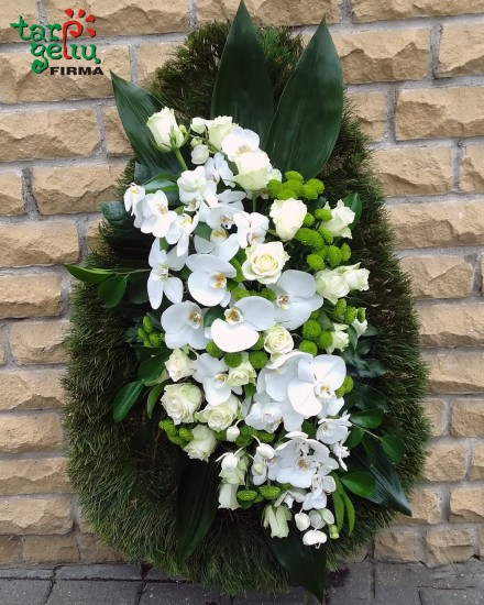 Funeral wreath EMISSION
