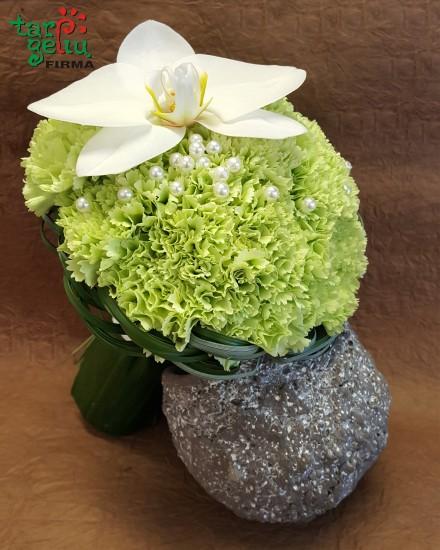 White Gladiolus Bouquet