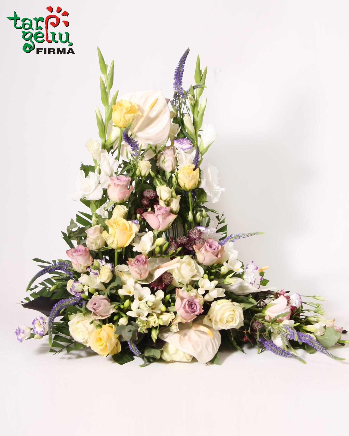 Elegant Funeral Arrangement Funeral Boquets Funeral