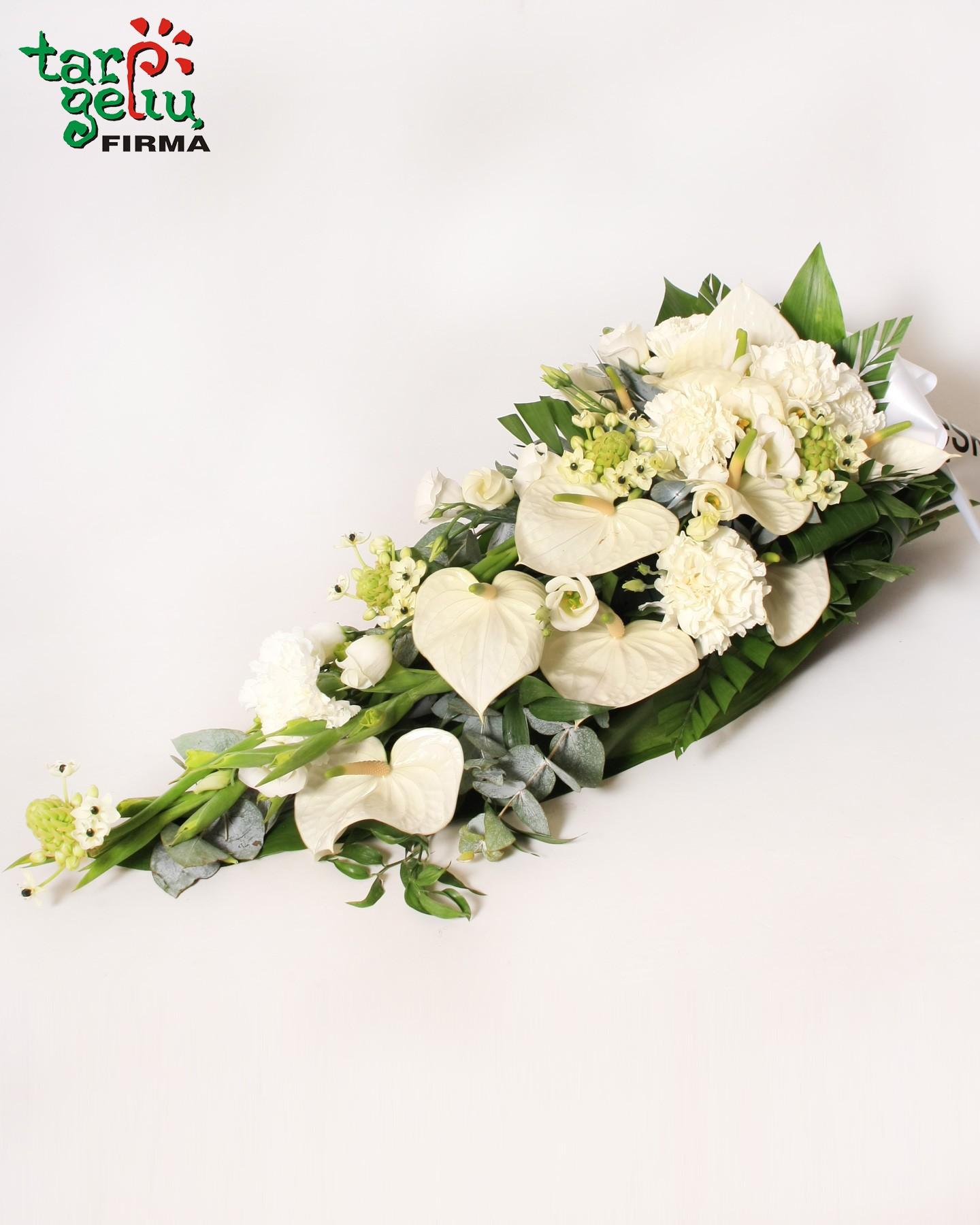 Funeral wreath funeral arrangements funeral funeral arrangement angel gedulinga kompozicija su liudesiu izmirmasajfo