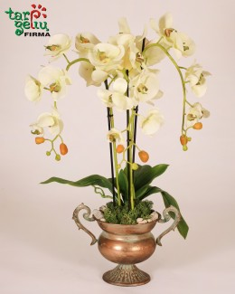 Artificial composition Orchid