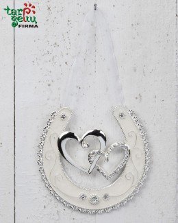 "Horse Shoe ""Double Hearts"""