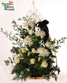 Funeral bouquet HEARTBREAK