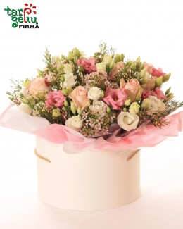 Romantic flower box