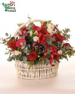Wonderful Arrangement in Basket