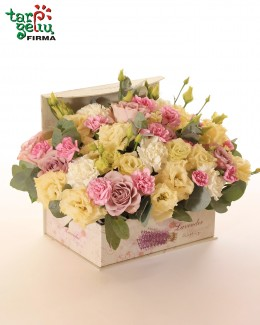 "Flower box ""Purity"""