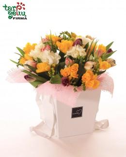 "Flower box ""Spring"""