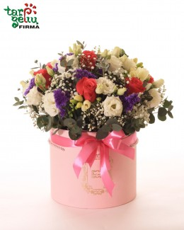 "Flowers box ""Birthday"""