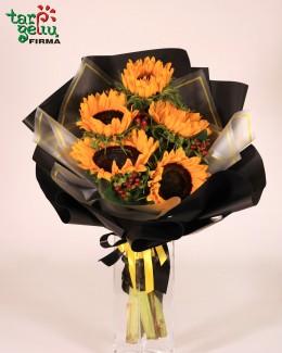 Bouquet of sunflower