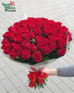 """Bouquet of red roses """"Classic"""""""