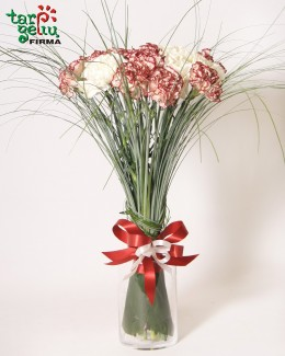 Carnation bouquet for Father