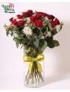 "Bouquet of roses ""Love You"""