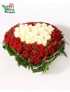 """Composition """"Roses Heart"""""""