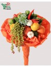 Boquet of vegetables and fruits
