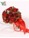 Vestuvinė puokštė iš rožių AISTRA