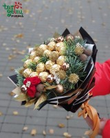 Christmas bouquet of candies