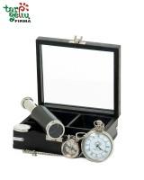 """Rinkinys """"Laikrodis - Žiūronai - Raktų pakabukas"""""""